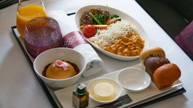 Photo of Qatar Airways introduces its first fully vegan range of gourmet dishes for premium customers