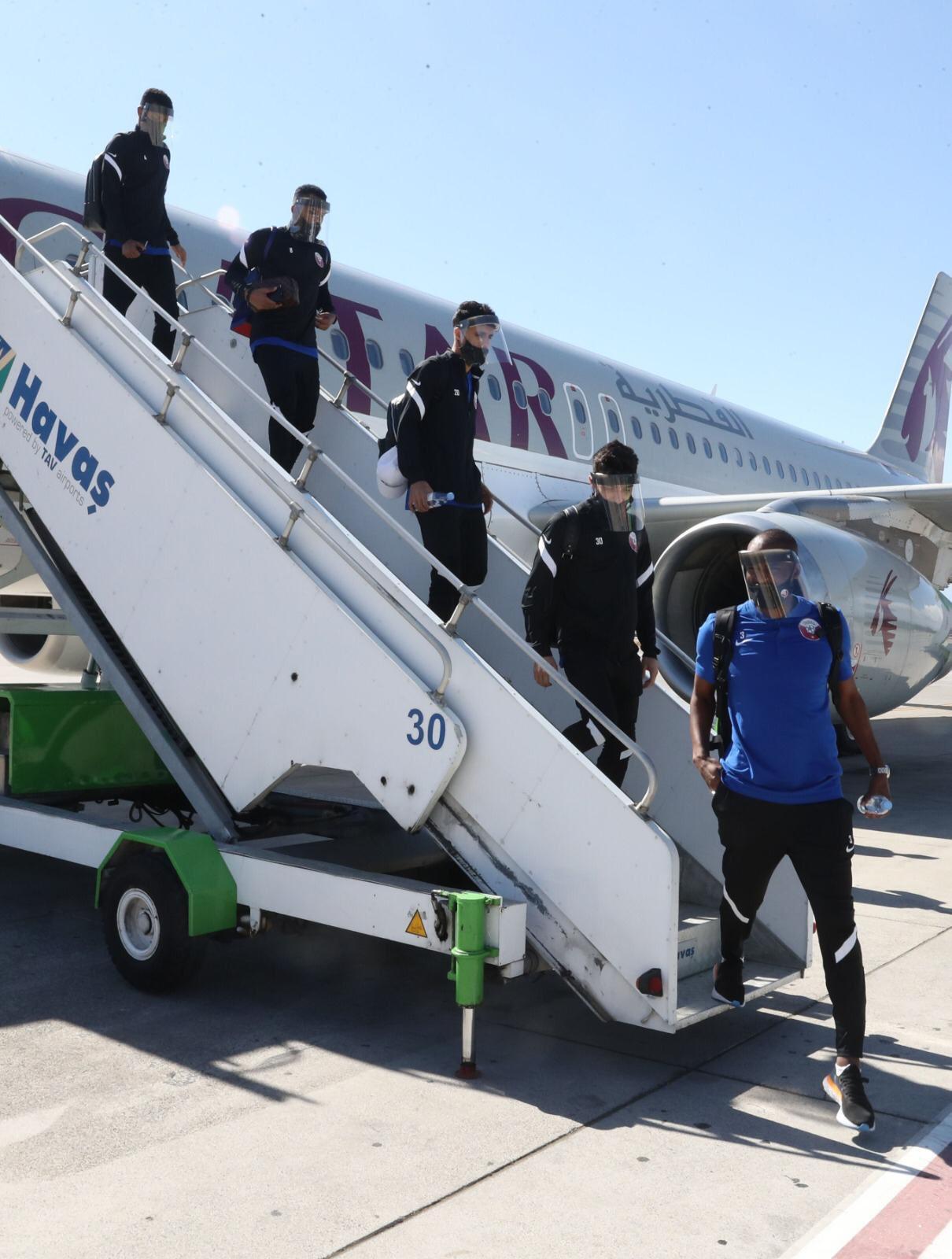 Qatar Football Team Arrives in Turkey Ahead of Ghana Friendly Match