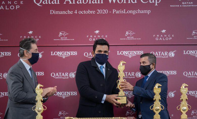 TAIF grants Sheikh Abdullah bin Khalifa the World Cup