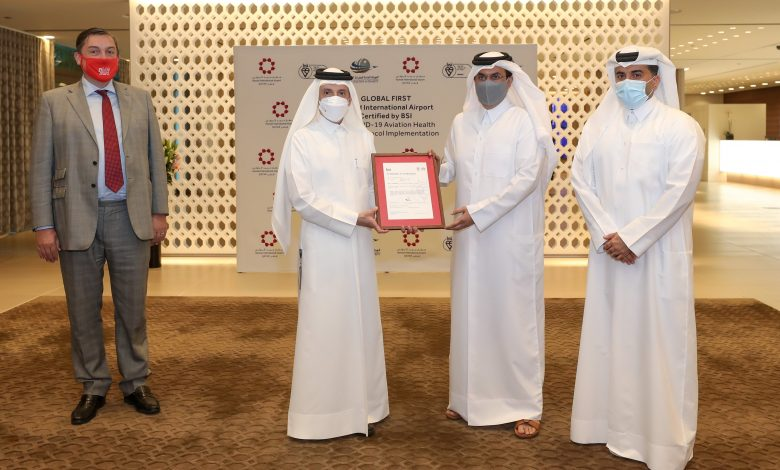 HIA ranks 1st in the world in applying Covid-19 health and safety protocols