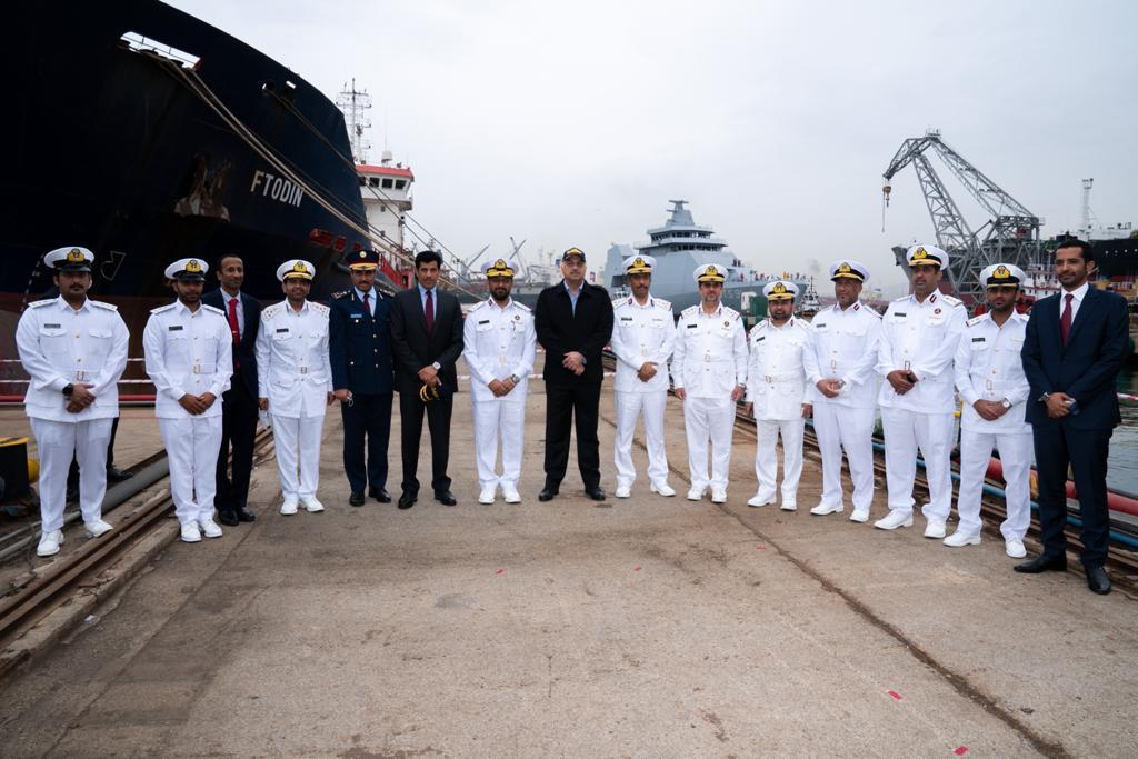 Minister of State for Defense Affairs Inaugurates Al Doha QTS91 Ship