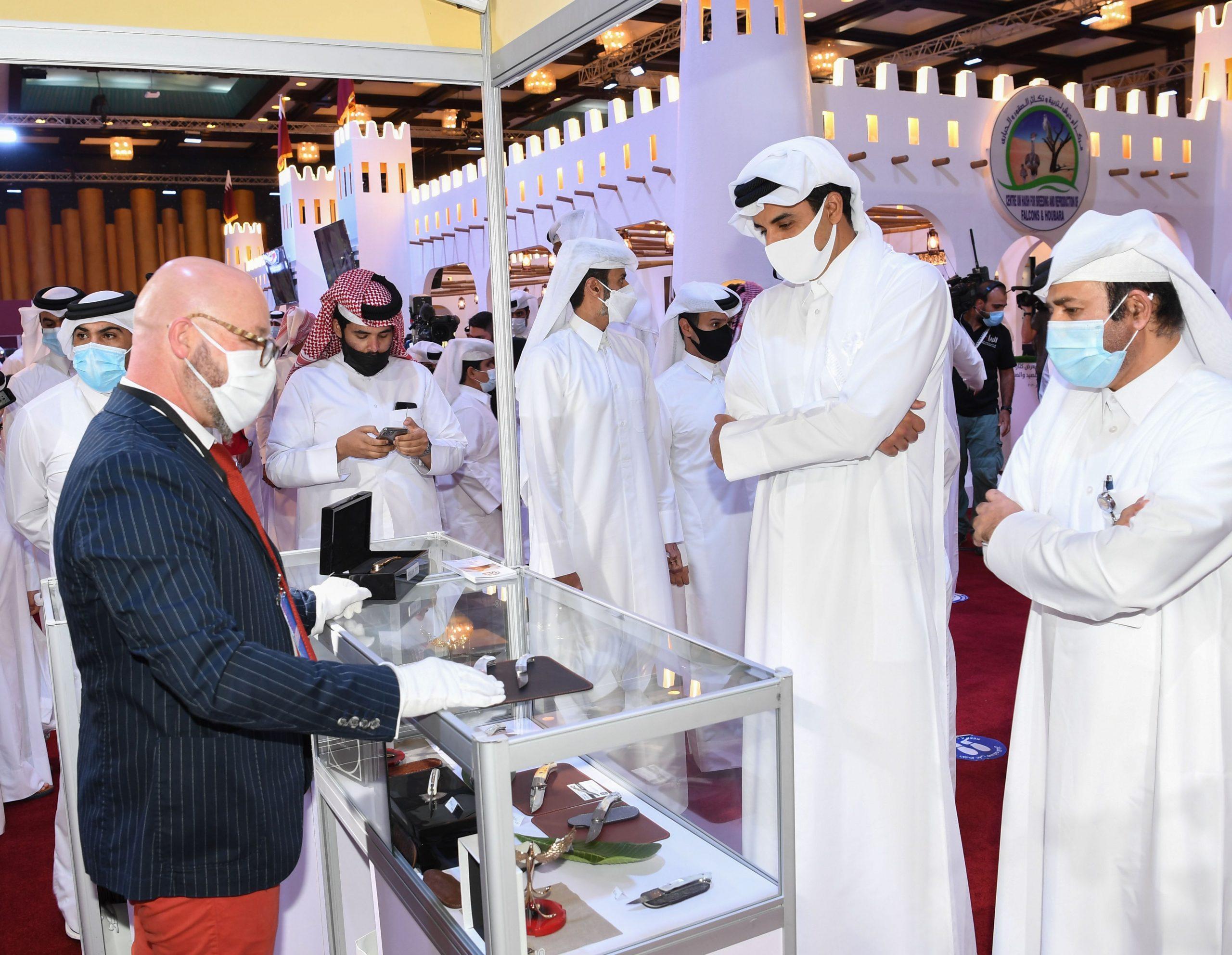 Amir Visits S'hail 2020 Exhibition