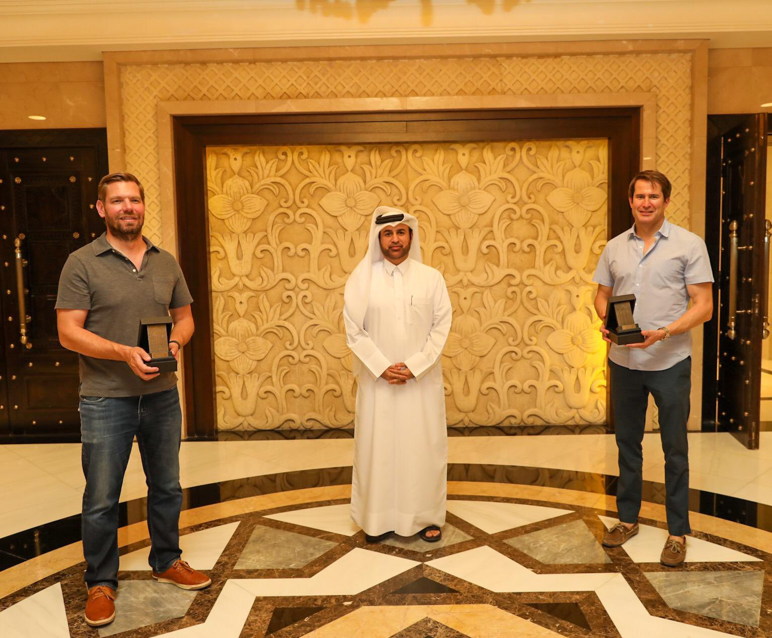 US Congress Delegation Visits Katara
