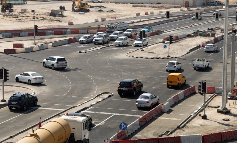 Ashghal partially opens Al Wakra Souq Intersection at Al Wakra Main Road
