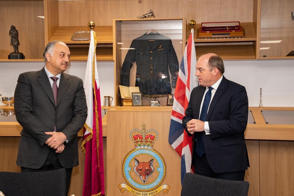 Minister of State for Defense Affairs Participates in 12 Squadron Headquarters' Opening