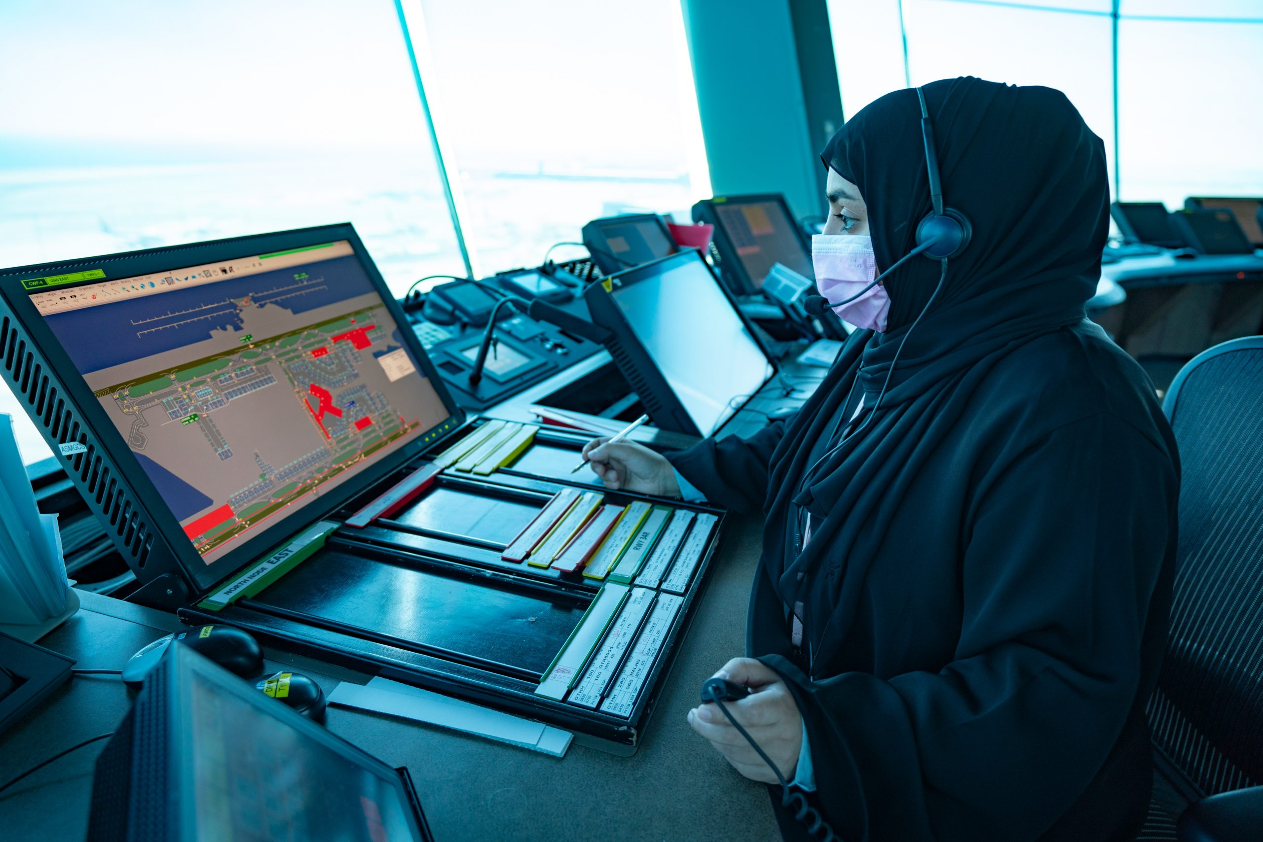 QA operates an exceptional flight with all female crew members