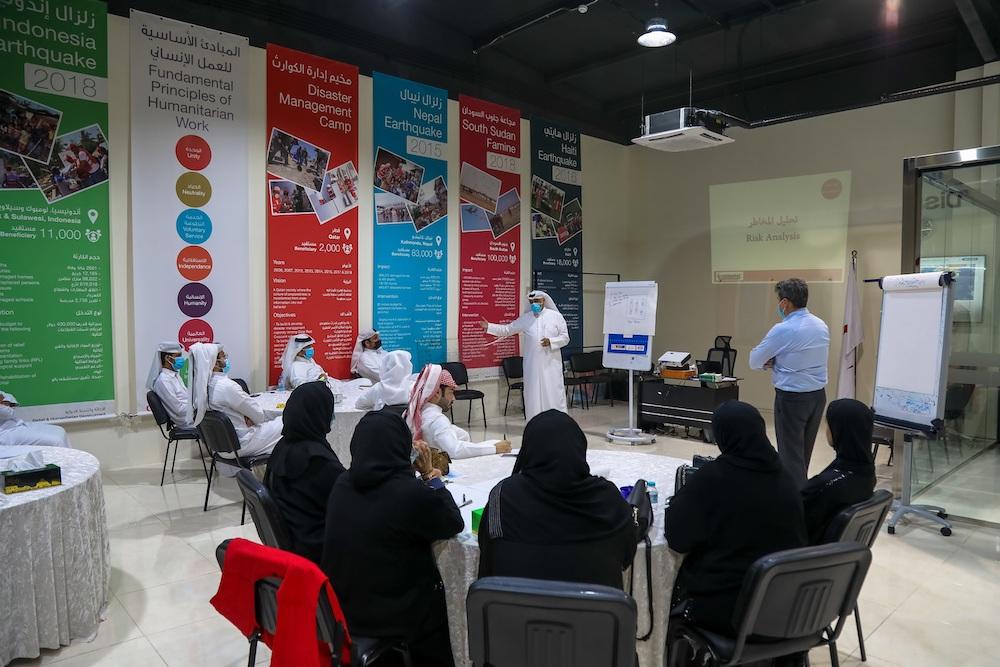 QRCS Concludes Basic Disaster Management Course