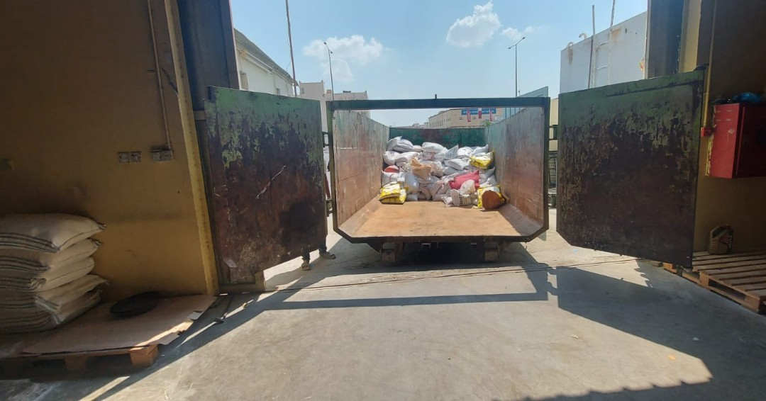 20 tonnes of spoiled food items confiscated from Industrial Area warehouse