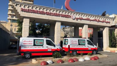 Photo of QRCS Supports Palestine Red Crescent Ambulance Service