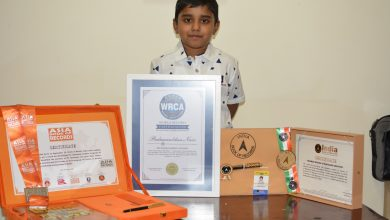 Photo of Six-year-old Qatar Resident Sets a New World Record