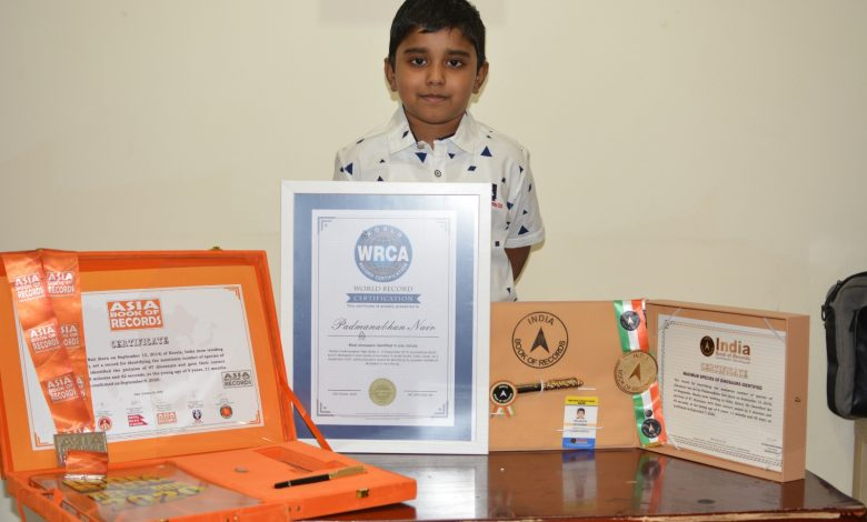 Six-year-old Qatar Resident Sets a New World Record