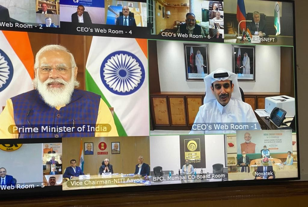 Minister of State for Energy Affairs Takes Part in Interactive Discussion with India's PM, Global Energy Sector Leaders