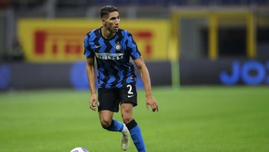 Photo of Inter Milan's Achraf Hakimi tests positive for COVID-19