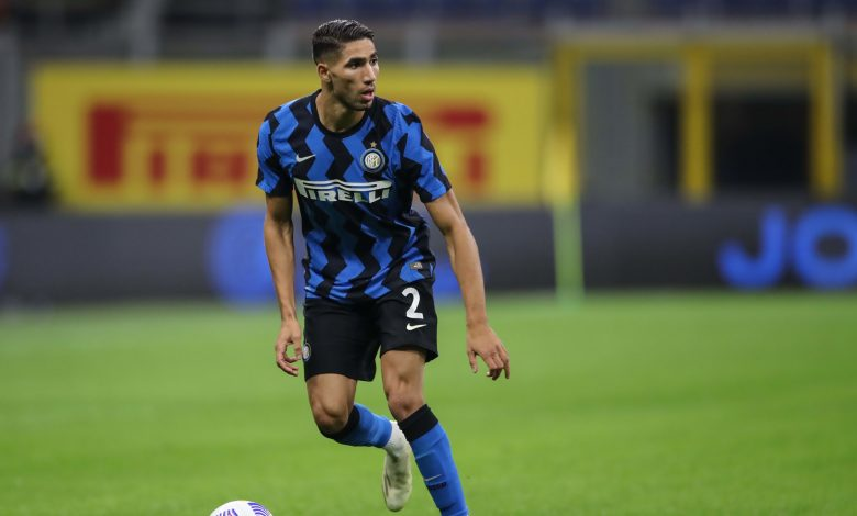 Inter Milan's Achraf Hakimi tests positive for COVID-19