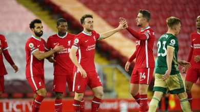 Photo of Liverpool clinch victory from Sheffield United