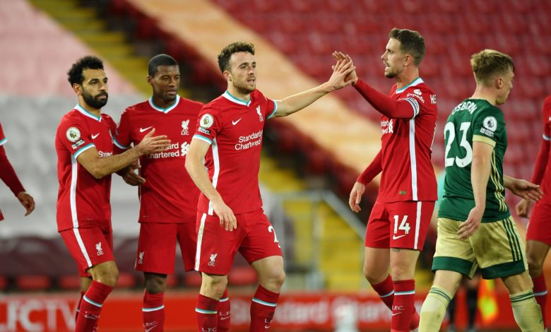 Liverpool clinch victory from Sheffield United