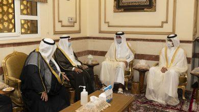 Photo of Amir condoles the Emir of Kuwait