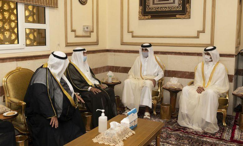 Amir Participates in Funeral Prayer of Sheikh Sabah Al-Ahmad