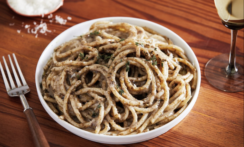 Ottolenghi's cacio e pepe comes with a wonderful Middle Eastern twist