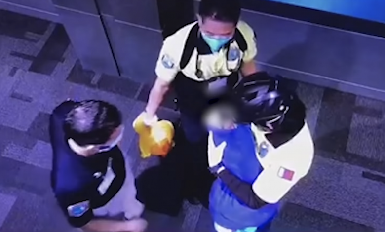 Video Revealing the First Moments of Finding a New born Girl at HIA