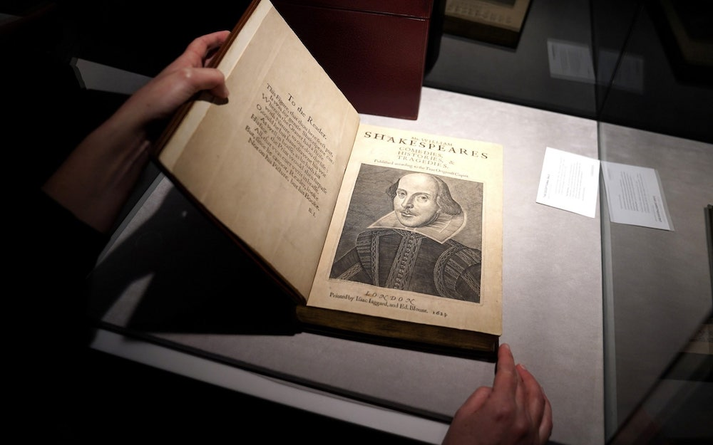 First collection of Shakespeare's plays sells for almost  million