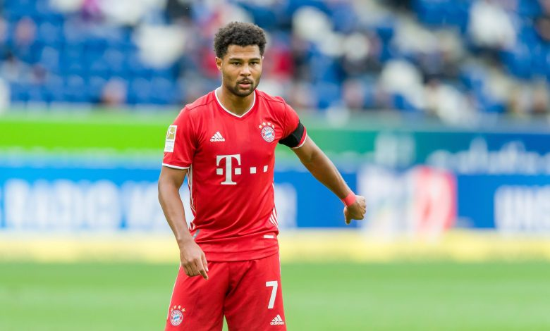 Bayern's Gnabry Tests Positive for COVID-19