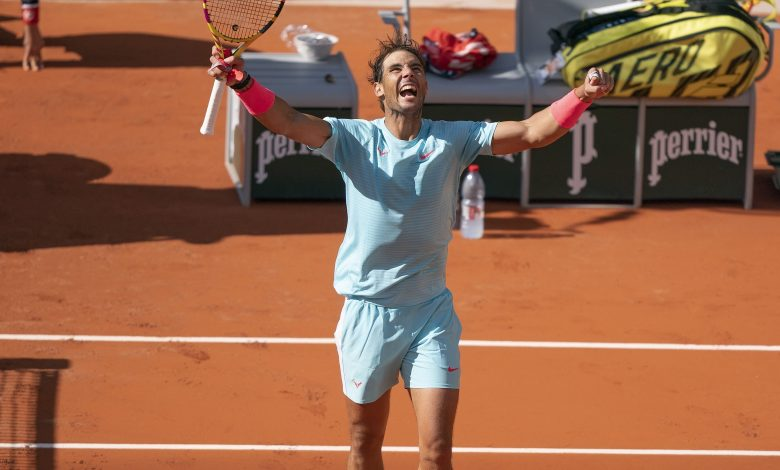Rafael Nadal in the Quarterfinals of French Open