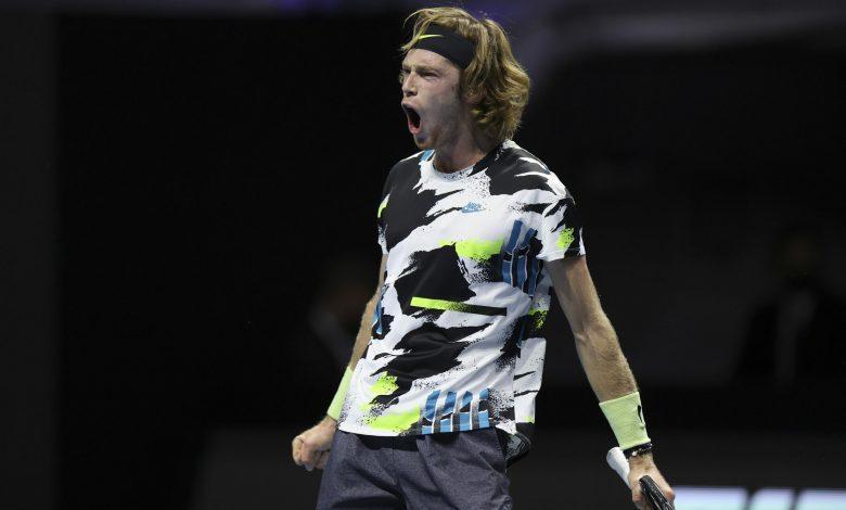 Andrey Rublev Wins St. Petersburg Open