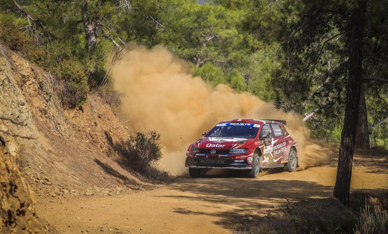 Al-Attiyah leads the first day of the Cyprus Rally