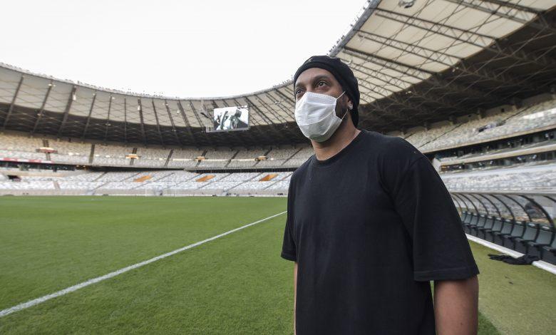 Ronaldinho tested positive for Coronavirus