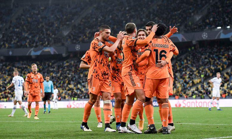 Juventus Beat Dynamo Kiev in UEFA Champions League