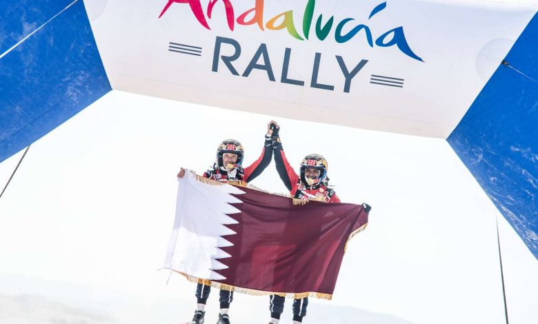 Nasser Al Attiyah Wins Andalucia Rally Title
