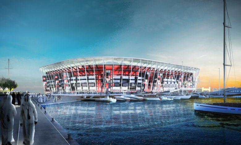 SC Announces Work Progress in Ras Abu Aboud Stadium