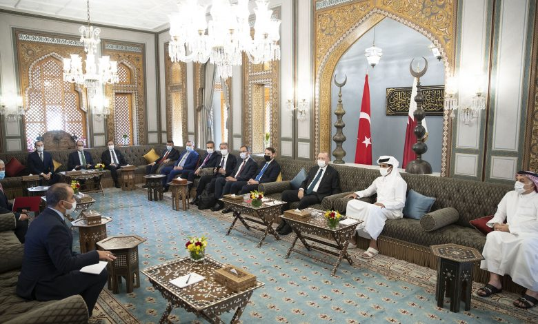 Amir, President of Turkey Discuss Strategic ties and Regional and International Developments