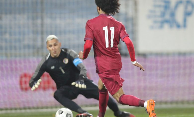 Qatar, Costa Rica draw in Vienna friendly