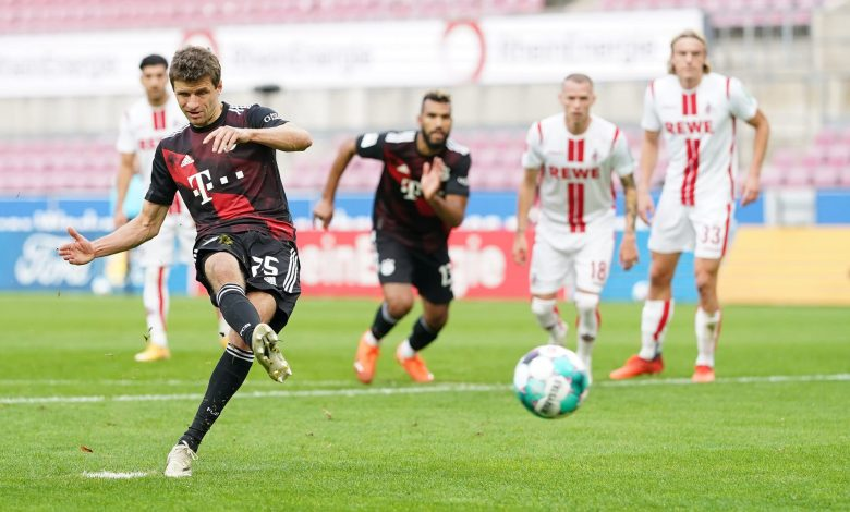 Bayern Munich sweep past Cologne to go top