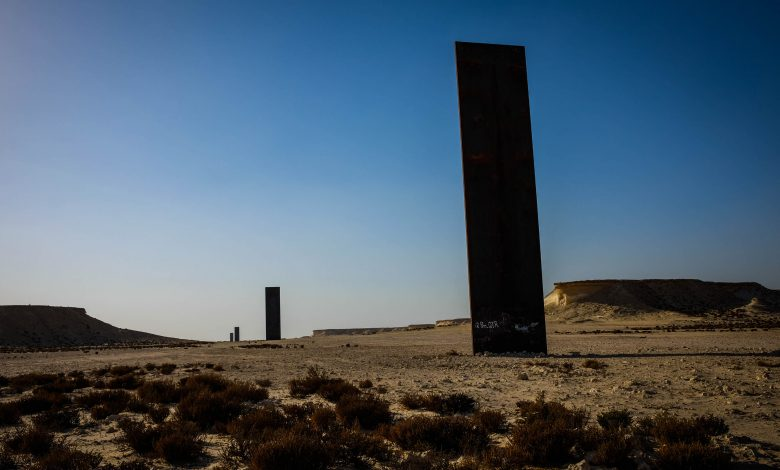QM restore Richard Serra's installation as part of its campaign to protect public art