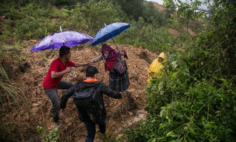 Storm Eta: Guatemala landslide kills at least 50