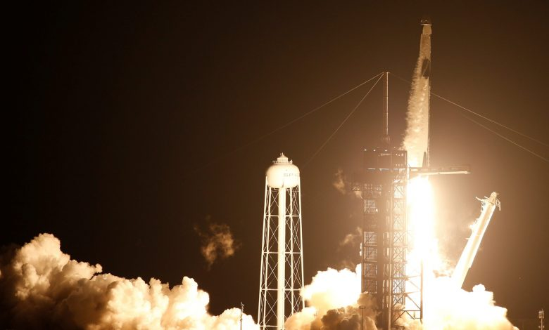 NASA and SpaceX launch their first operational mission into space