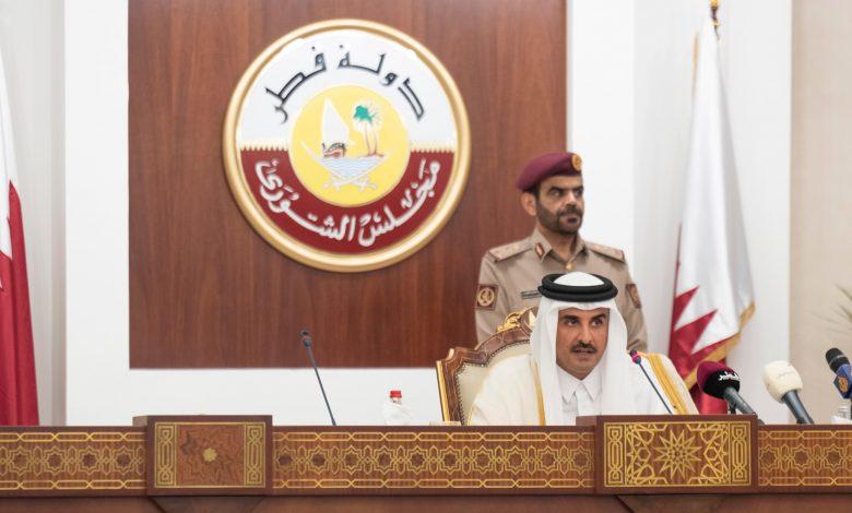Amir Inaugurates Shura Council 49th Ordinary Session