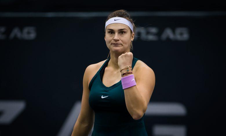 Sabalenka Beats Mertens in Austria Ladies Linz