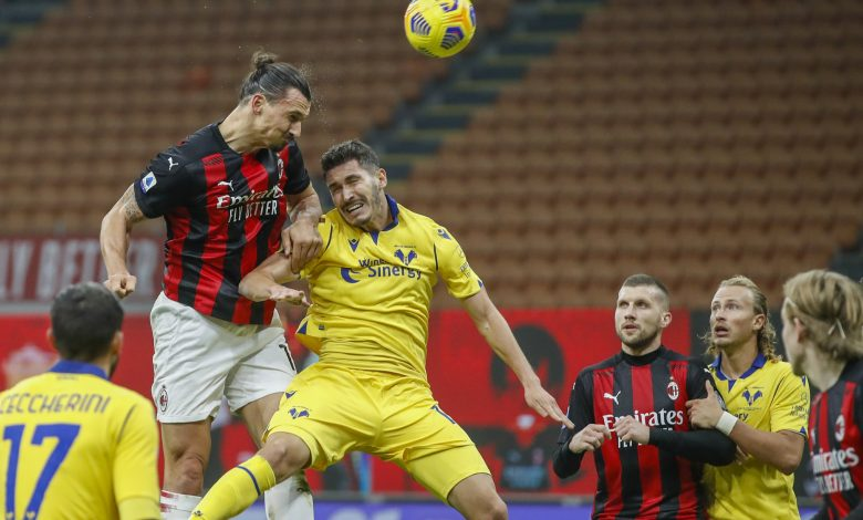Serie A: Milan and Juventus draw with Verona and Lazio