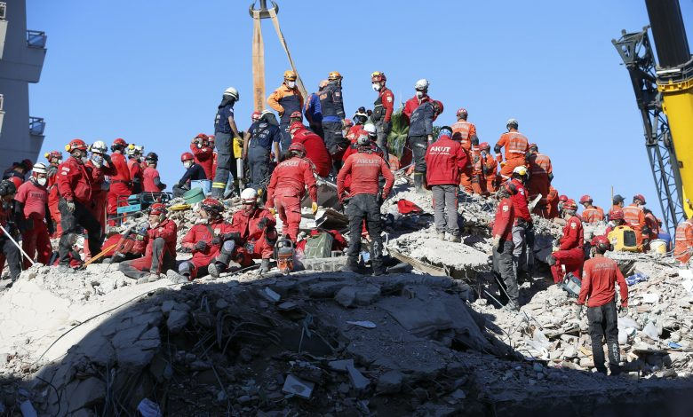 Man rescued from rubble 26 hours after earthquake
