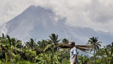 Hundreds evacuated as Indonesia's most active volcano rumbles