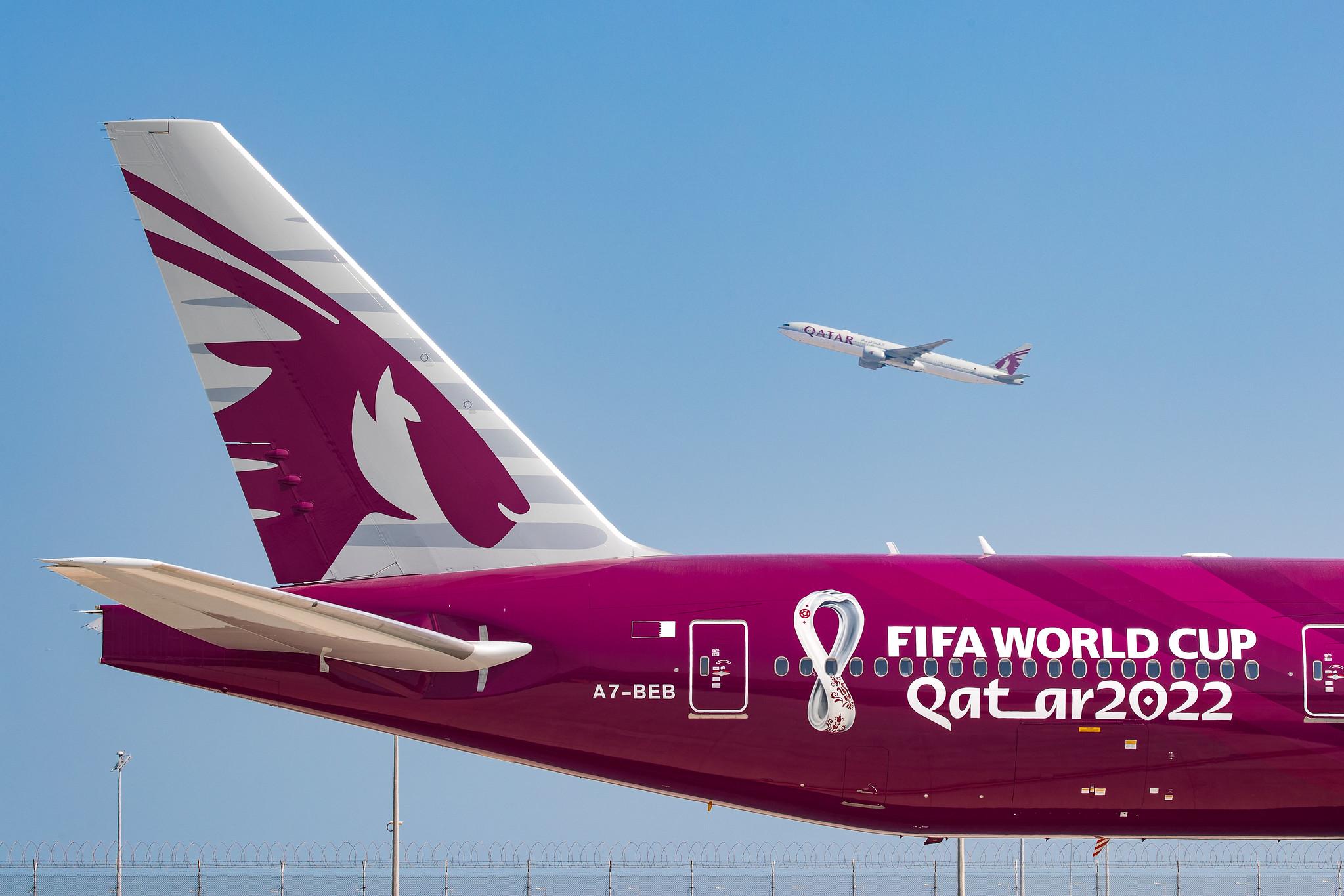 Qatar Airways Unveils First World Cup 2022 Aircraft