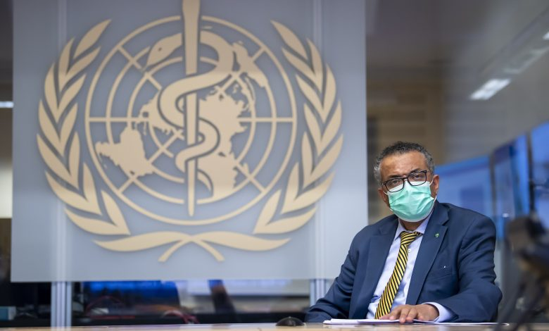 WHO chief in quarantine after contact gets COVID-19