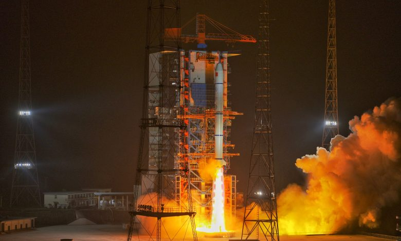 China sends 13 satellites into orbit with single rocket
