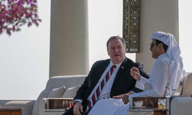 Amir Meets US Secretary of State