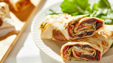 This tortilla egg wrap can power you through a busy morning or quick lunch break