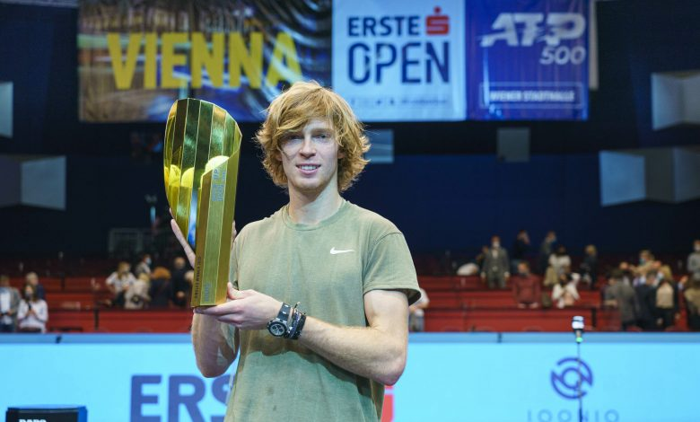 Russian Rublev Claims Vienna Title